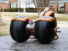 Now that's a fatboy motorcycle