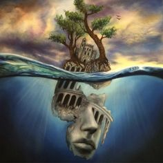 """Artist Creates Fantastical Worlds by """"Painting with Dreams"""" - My Modern Met"""