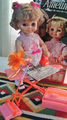 Boneca Antiga Amelinha Da Estrela 70s Funcionando, Na Caixa - R$ 850,00 no MercadoLivre