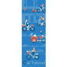 Ode an das Fahrrad!  A1/2 Print Recyclingpaper Bike, Cycling, Poster Order on Etsy mnutzDesign or my Webshop www.mnutz.at