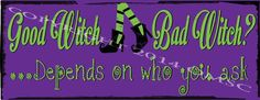 Good Witch Bad Witch Metal Sign, Halloween Decor, Witches, Home Decor #OMSC #Cottage