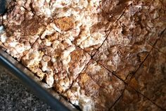 smore rice krispie squares- could put into bags for teachers- we need s'more teachers like you!