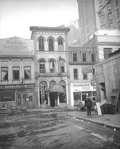 Market Square has a lot going on these days, but you wouldn't guess it from the appearance in this old photo