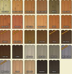 Fence And Deck Stain Colors Cedar Grey Staining Wood