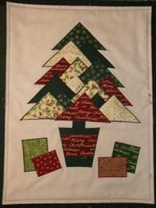 Picture of Christmas Tree Wall Hanging