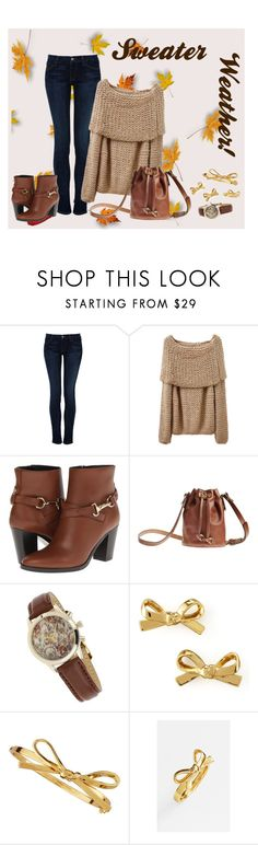 """""""Sweater Weather!"""" by allycat95 ❤ liked on Polyvore featuring Koral, Burberry, Toast, Miss Selfridge, Kate Spade, jumper, fallfashion, autumnstyle and fallwinter2015"""