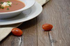 Rezept: Tomatencremesuppe mit Reis und Kokos