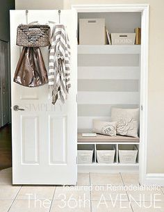 Make your closet work for you! (image: The 36th Avenue)