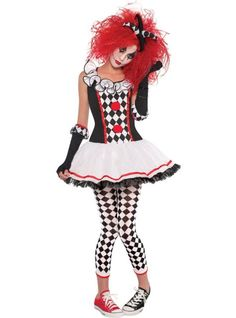 Teen Girls Harlequin Honey Costume - Party City --- I was this last year and I loved it!!! I would recommend this to anyone!