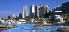 Durban is the third largest city in South Africa and the best place to enjoy a lively seaside holida. News South Africa, Durban South Africa, South Africa Tourist Attractions, Most Beautiful Beaches, Beautiful Places, Cruise Destinations, Beaches In The World, Tourist Spots, Travel And Leisure