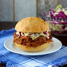 Sweet Pulled Pork Recipe - Your Cup of Cake & ZipList