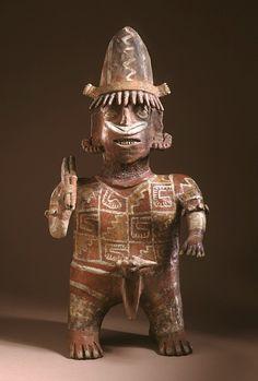 Standing Male Figure  Mexico, Nayarit, Ixtlan del Rio, 200 B.C.- A.D. 500