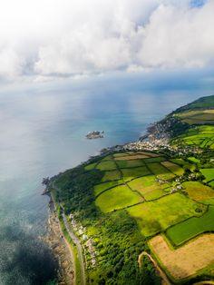 Cornwall Coast, UK // seriously, somebody please take me to the english countryside.