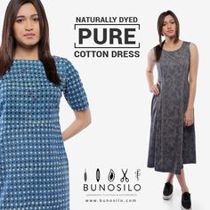 Buy now ‪#‎bunosilo‬ Hand Block printed dresses with dabu printing techniques and naturally dyed in 100%Cotton at #Bunosilo ‪#‎handcrafted‬ ‪#‎dabuprinting‬ ‪#‎handblock‬ ‪#‎naturaldyes‬