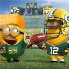 Green Bay Packers Minions