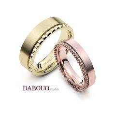 Dabouq Studio Couple Ring - DR0010 - Simple+ #DABOUQ #Jewelry #쥬얼리 #CoupleRing #커플링 #ProposeRing #프로포즈링 #프로포즈반지 #반지 #결혼반지 #Dai반지 #Diamond #Wedding_Ring #Wedding_Band #Gold #White_Gold #Pink_Gold #Rose_Gold