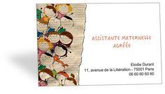 Carte De Visite Assistante Maternelle