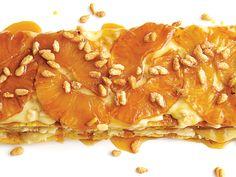 Pineapple and Pine Nut Torte