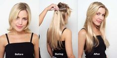 Tape-In-Hair-Extensions by uniwigs, via Flickr