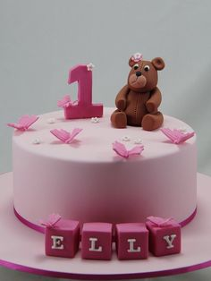 Fabulous 1st Birthday Cake For Baby Girls