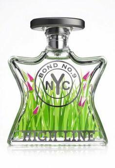 High Line Eau de Parfum Spray von Bond No. Perfume Diesel, Perfume Bottles, Rose Perfume, New York High Line, Bond, Francis Kurkdjian, Best Fragrances, Purple Love, Glass Art