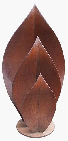 3d Leaf Corten Steel Sculpture | Sculptura® | Sales & Rental Sculptura®