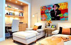 Muitas dicas para você decorar inspirado na Pop Art. Confira! #homedecor #dicas #decoração