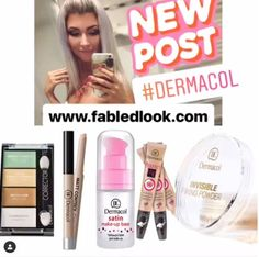Fabled Look - Beauty Online Store Czech Cosmetics Worldwide Delivery Dermacol Make Up Cover, Cover Up, Dermacol Foundation, Good Skin, Concealer, Makeup Tips, How To Apply, Cosmetics, Beauty