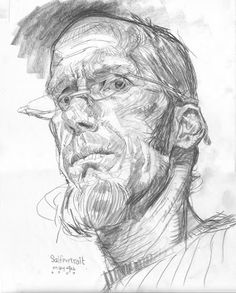 self portrait by Thomas Fluharty Art Curator & Art Adviser. I am targeting the most exceptional art! Catalog @ http://www.BusaccaGallery.com