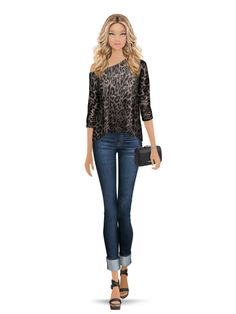 Styled with: Joie, Hudson, Twenty, Rebecca Minkoff, One Oak By Sara, Fallon   Create your own look with Covet Fashion