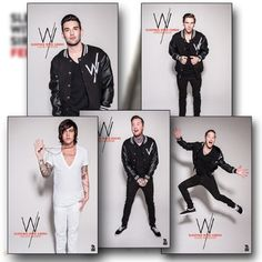 Set Of 5 Sleeping With Sirens Posters: $9 I WILL FIND THESE POSTERS