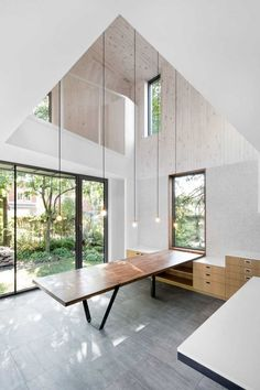 naturehumaine have recently completed the redesign and extension of a house in Montreal, Canada.