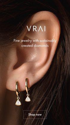 Avery Jewelry, Ear Jewelry, Jewelery, Silver Jewelry, Jewelry Accessories, Fine Jewelry, Women Jewelry, Simple Earrings, Simple Jewelry
