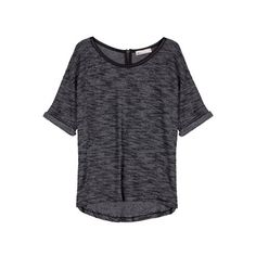 Shortsleeve melange blouse Lovers, T Shirts For Women, Blouse, Outfits, Collection, Tops, Style, Fashion, Swag
