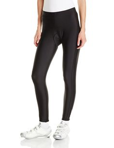 Canari Cyclewear Women's Gel Cycle Tights, Black, Medium: The perfect fall cycling tight provides high performance compression along with warmth and comfort, comes with Canari's revultionary GEL Shock seamless comfort pad. Cycling Tights, Cycling Wear, Cycling Girls, Cycling Shorts, Cycling Outfit, Cycling Clothing, Bicycle Clothing, Women's Cycling, Outdoor Clothing