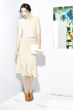 Alice + Olivia Resort 2015 Fashion Show - Monika Borowska