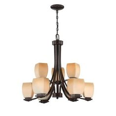 Lite Source Orazio 9 Light Chandelier