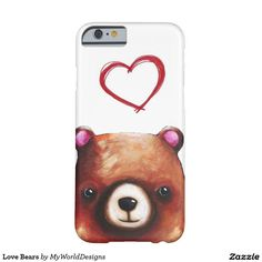 Love Bears Barely There iPhone 6 Case