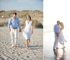 StyleFile #31: A Beach Wedding | Casual wedding attire, Casual ...