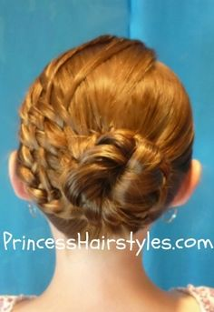 Princess hairstyles    #kids