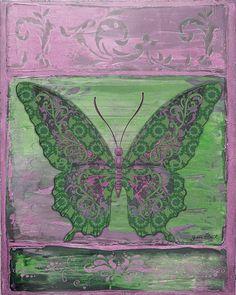 I uploaded new artwork to fineartamerica.com! - 'Fanciful Purple Butterfly' - http://fineartamerica.com/featured/fanciful-purple-butterfly-jean-plout.html via @fineartamerica