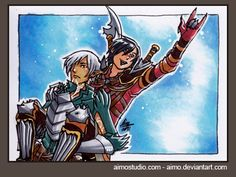 PSC - Fenris and Hawke by aimo.deviantart.com on @deviantART