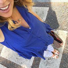 #ootd #blue #sandals #spring #maternity #babybump #maternityfashion