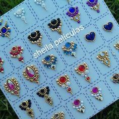 Gem Nails, Star Nails, Hair And Nails, Runway Nails, 3d Nail Designs, Bead Embroidery Tutorial, China Nails, Special Nails, Nail Jewels