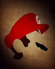 Mario over on Etsy. Super Mario Poster, Super Mario Room, 90s Disney Cartoons, Legend Of Zelda, Jhon Green, Gamer Room, Super Mario Brothers, Fan Art, Super Mario Tattoo