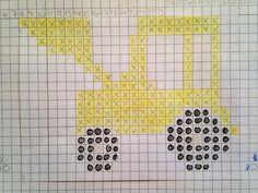 Smart snoningssweater til drengene i familien. Picot Crochet, Bobble Crochet, Bobble Stitch, Crochet Chart, Crochet Motif, Knitting Patterns Boys, Knitting Charts, Knitting Projects, Baby Knitting