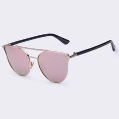 9b2cb72fb AOFLY Vintage Metal Frame Sunglasses Women Cat Eye Glasses Women Decoration  Men Classic #sheerbliss #