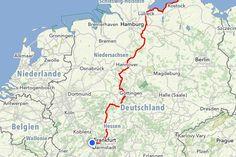 Routenplanung – Diddi reist