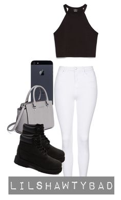"""Simple & Sexy"" by lilshawtybad on Polyvore featuring MICHAEL Michael Kors, Topshop, Zara and Timberland"