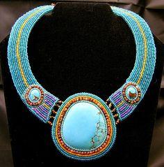 Totem Necklace by Kazi @Etsy    Found: http://oohsome.blogspot.com.au/2009_03_01_archive.html